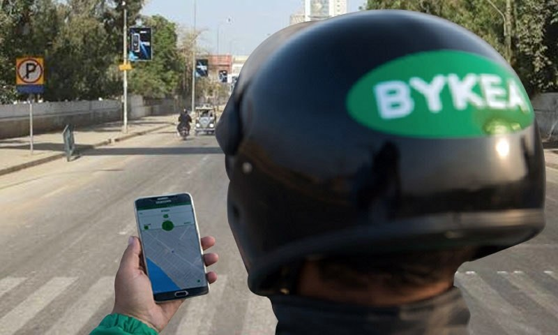 The Bykea user app already boasts over two million downloads while the one for partners has 200,000 motorbike owners across Karachi, Rawalpindi/Islamabad and Lahore. ─ Photo courtesy Bykea Facebook
