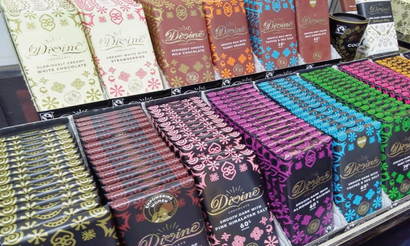 Divine Chocolate, which is 44 per cent owned by its cocoa farmers, also found it hard to compete when competitors shifted to Fairtrade.