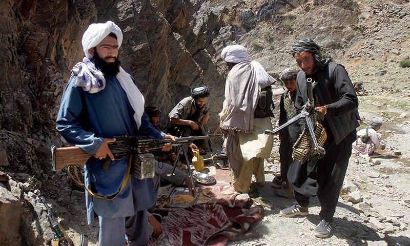حالیہ مذاکرات میں افغان حکومتی نمائندوں کو شامل ہونے کی اجازت نہیں دی گئی — فائل فوٹو/اے پی