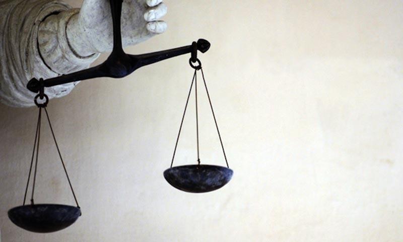 مسلم لیگ (ن) فوجی عدالتوں میں توسیع پر پی ٹی آئی کی حامی ہے۔ — فائل فوٹو: اے ایف پی