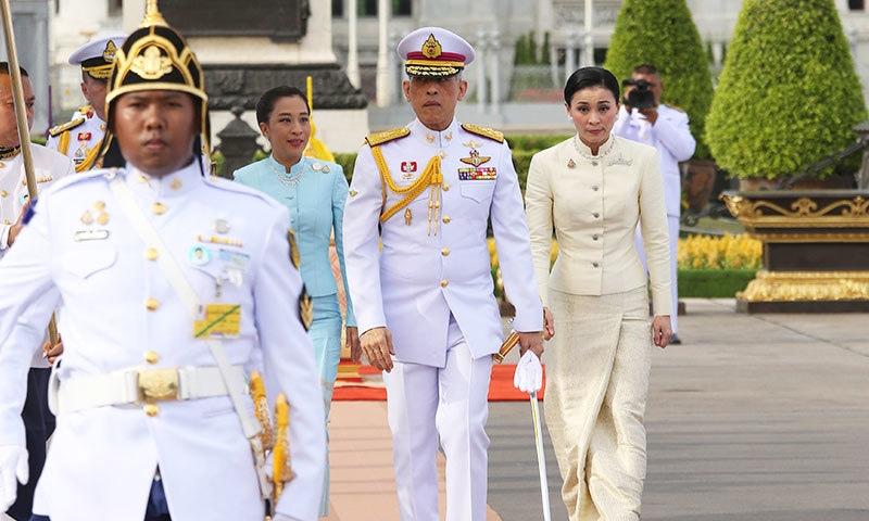 بادشاہ نے والد کی وفات کے بعد 2016 میں ذمہ داریاں سنبھالی تاہم وہ رواں برس تخت نشین ہوئے تھے—فوٹو: اے پی