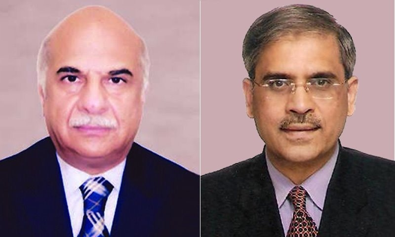 طارق باجوہ اور جہانزیب خان دونوں پاکستان ایڈمنسٹریٹو سروس میں گریڈ 22 کے افسران ہیں—فائل فوٹو: ڈان نیوز