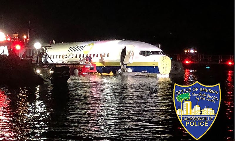 'Miracle': Plane crashes into Florida river, but no deaths