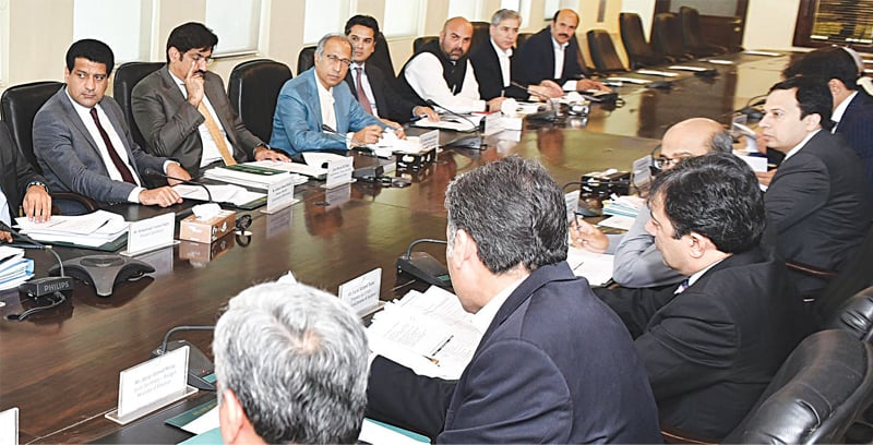 ISLAMABAD: Finance Adviser Dr Abdul Hafeez Shaikh is chairing a meeting of Fiscal Coordination Committee on Saturday.