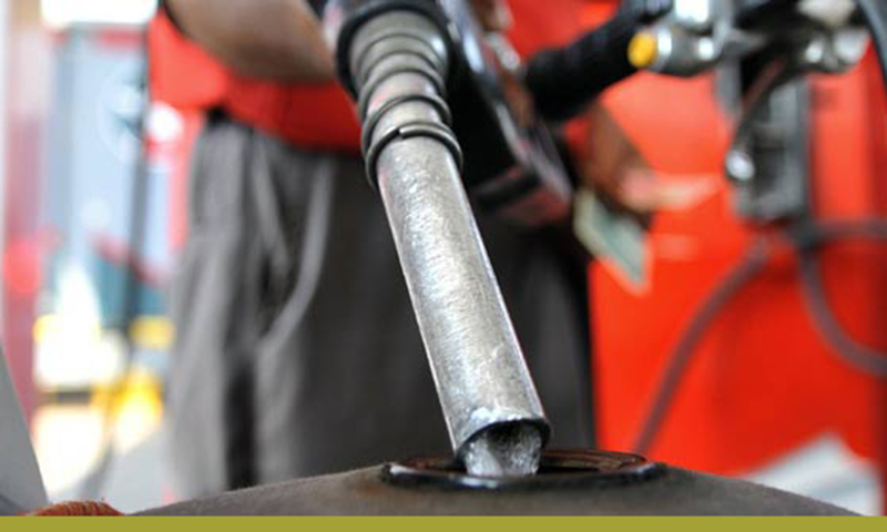 The new price of petrol would be Rs108.31 per litre while the price of high speed diesel has been increased by Rs4.89 to reach Rs122.32 per litre. ─ File photo