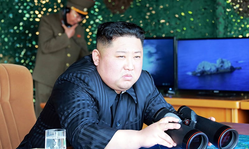 North Korea tests rocket launchers, 'tactical guided weapons'