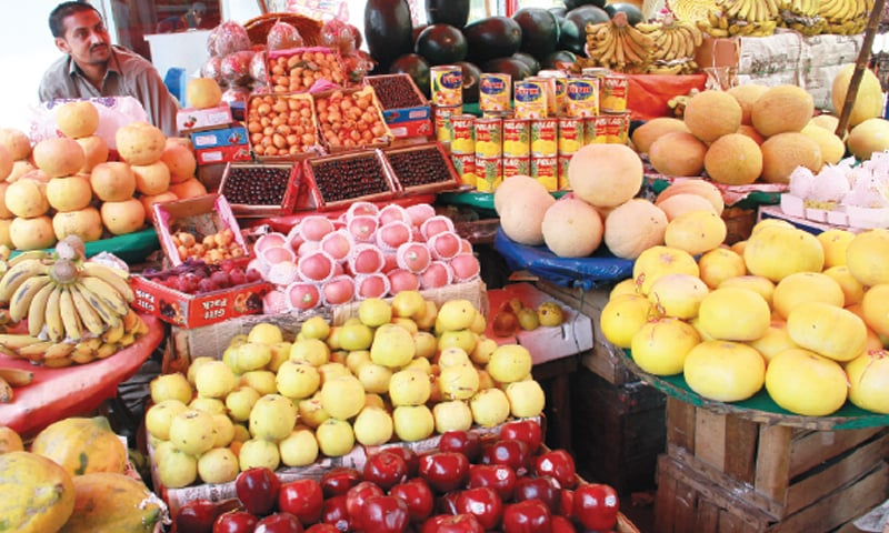 Prices of fruits have increased during the weeks prior to Ramazan besides a sharp jump in the prices of bread, butter and, meat.