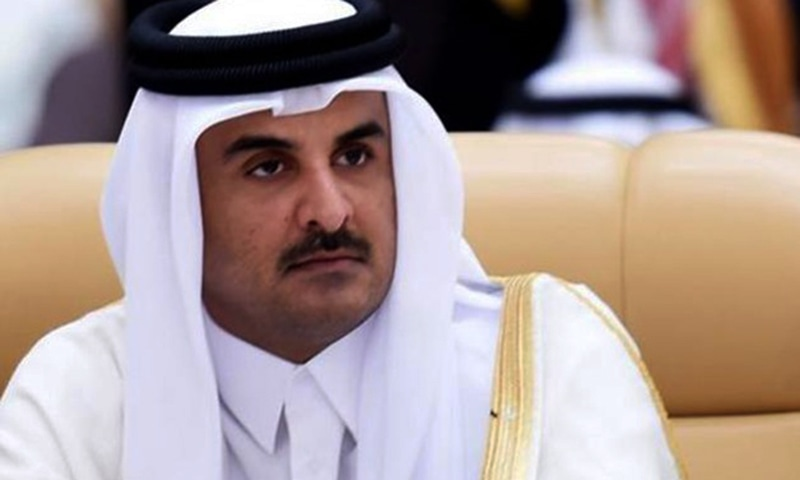 """""""The state of Qatar has allocated $300m in the form of grants and loans to support the health and education sectors' budgets with the Palestinian Authority,"""" the official Qatar News Agency said. — AFP/File"""