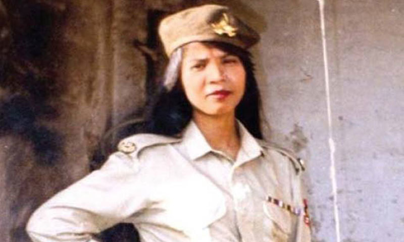 Aasia Bibi, a Christian woman condemned to death on blasphemy charges, who was acquitted by the Supreme Court, has left Pakistan. — File photo