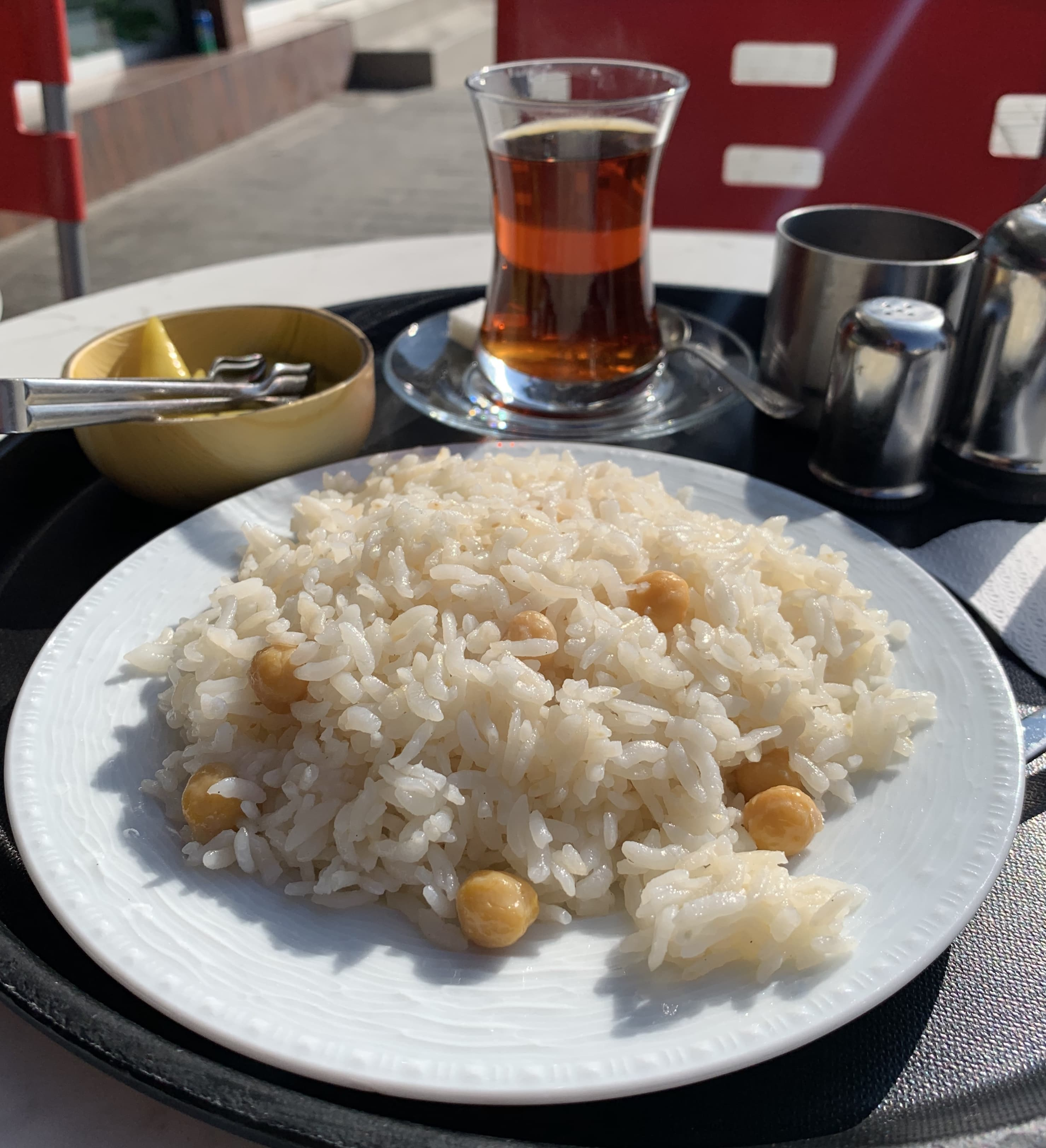 For a hearty and economical local meal, have the Turkish pilav at one of the many eateries in Karaköy.