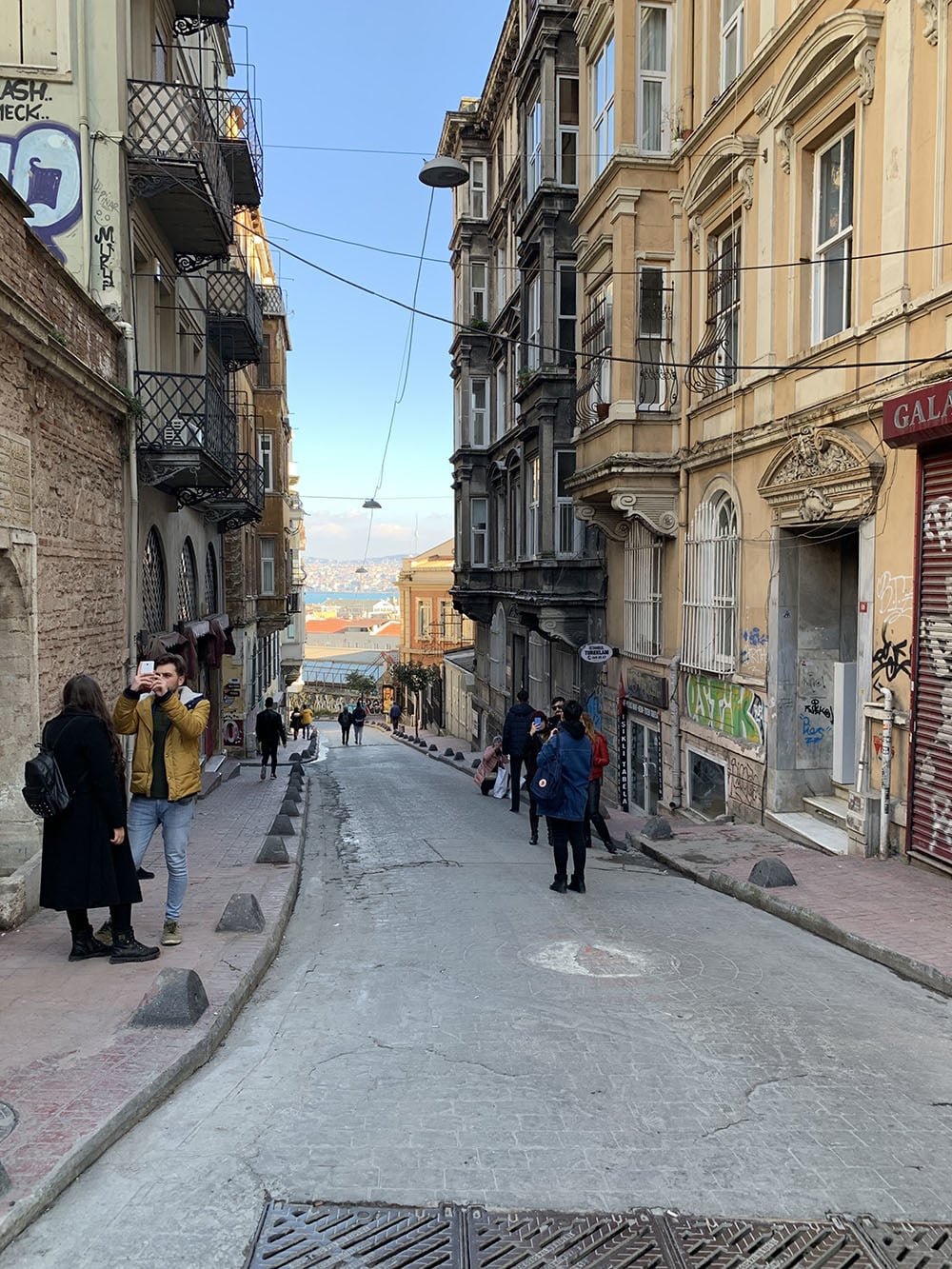 The Galata area in Beyoğlu is popular among the young Istanbullus and tourists for shops, museums and eateries.—All photos by author