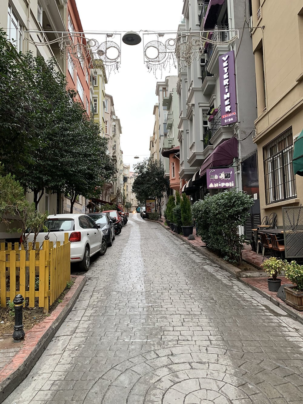 The hilly neighbourhood of Cihangir has a more residential feel than its neighbouring Galata area.