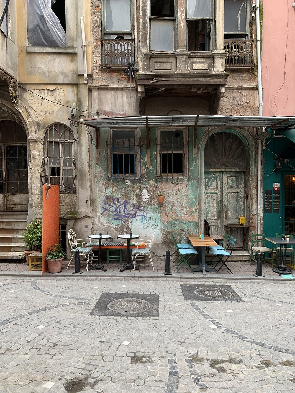 Balat, formerly Istanbul's Greek Orthodox and Jewish neighbourhood.