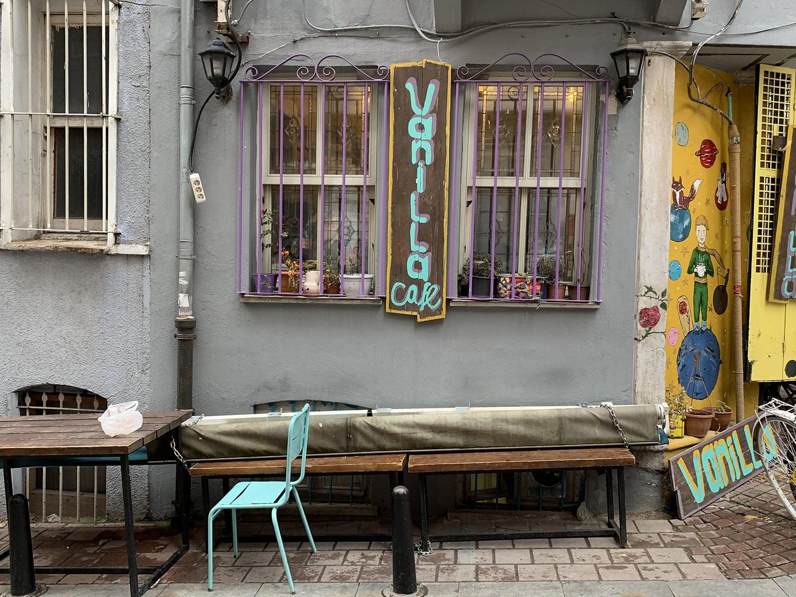 Coffee shops can be found in abundance in Balat.