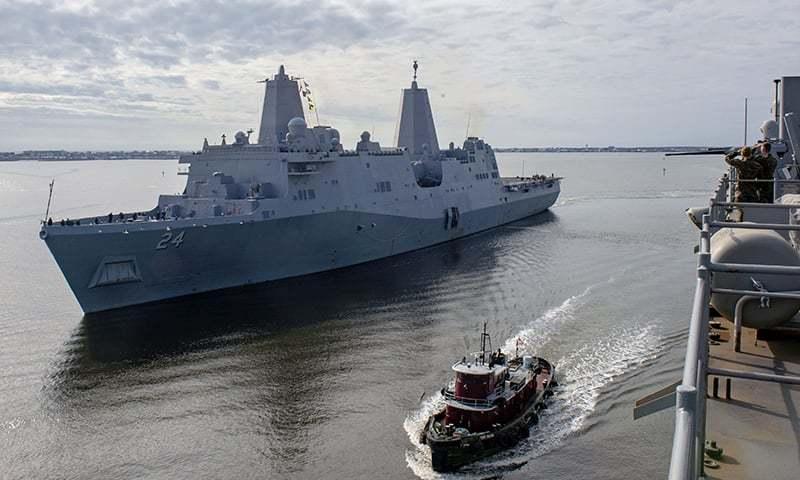 امریکا خلیج فارس میں بحری بیڑے اور مشرقِ وسطیٰ میں فوجی اڈے سے اپنے آپریشنز جاری رکھے گا—اے ایف پی