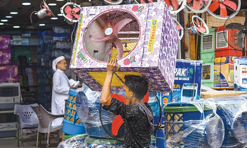 People see evaporative air coolers as a cheaper option when compared to air conditioners. / Photos by Fahim Siddiqi / White Star