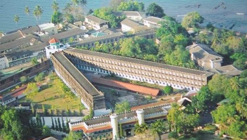 The Cellular Jail at Andaman Islands. Only three of the original seven wings remain and the building is now a national memorial | Creative Commons