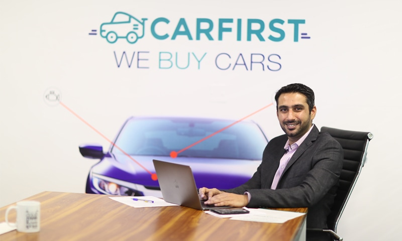 CEO Raja Murad Khan seeks to disrupt the used car marketplace.