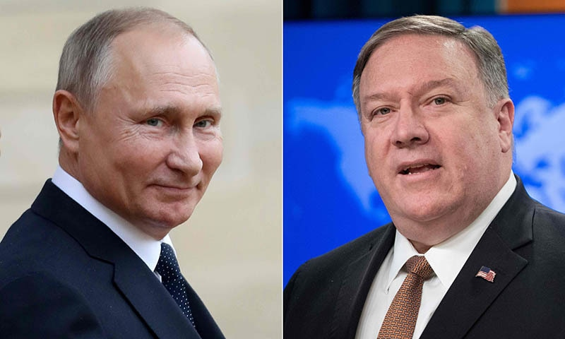 Pompeo heads to Russia as US diplomacy turns haphazard