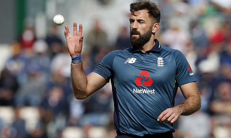 England's Liam Plunkett prepares to bowl during the second ODI match between England and Pakistan at The Ageas Bowl in Southampton on May 11. — AFP