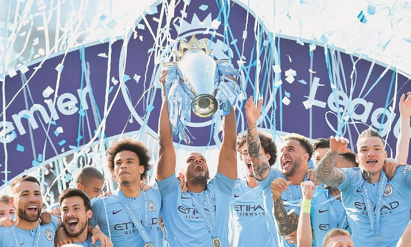 Manchester City win thrilling title race, break Liverpool hearts