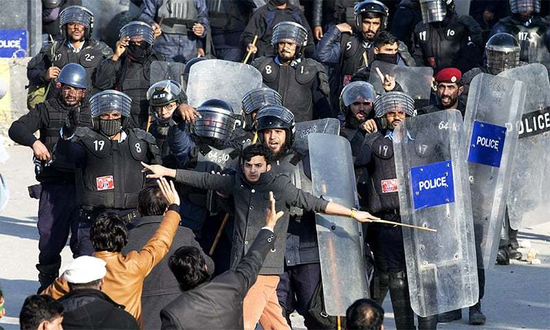 Calls for reviving Police Order 2002 in 'original shape'. — APP/File