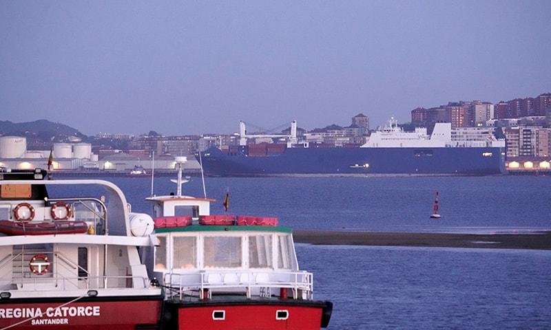بندرگاہ پر دھماکوں کی اطلاع غیر مصدقہ ثابت ہوئی — فوٹو: رائٹرز