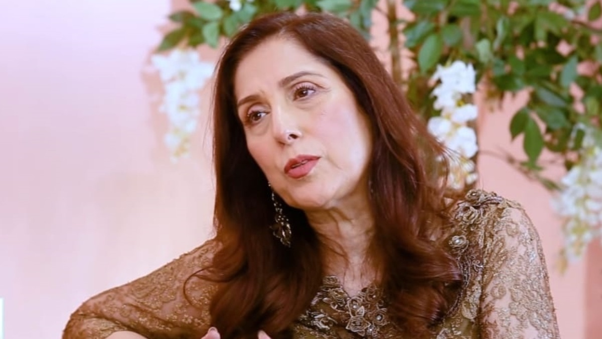 Samina Peerzada thinks people get therapy because they don't have any friends
