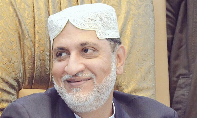 Akhtar Mengal, president of his own faction of the Balochistan National Party (BNP-M), has refuted claims that a Baloch 'missing person' was among the gunmen who attacked a hotel in Gwadar on Saturday. — Photo courtesy Akhtar Mengal Twitter
