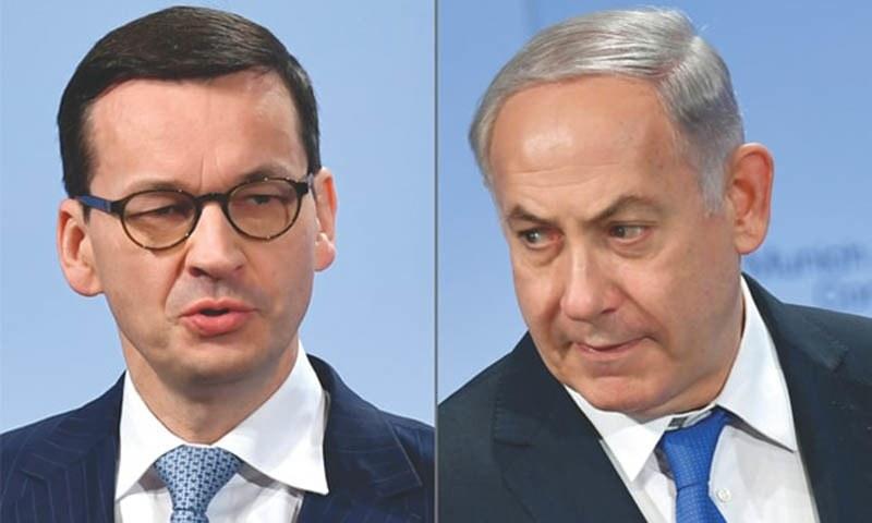 پولینڈ کی حکومت ایک مرتبہ پھر ہولوکاسٹ کے معاملے پر  شرمندہ کررہی ہے، اسرائیلی اپوزیشن رہنما— فائل فوٹو/اے ایف پی