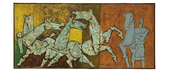 """Sprinkling Horses"".—Christie's."