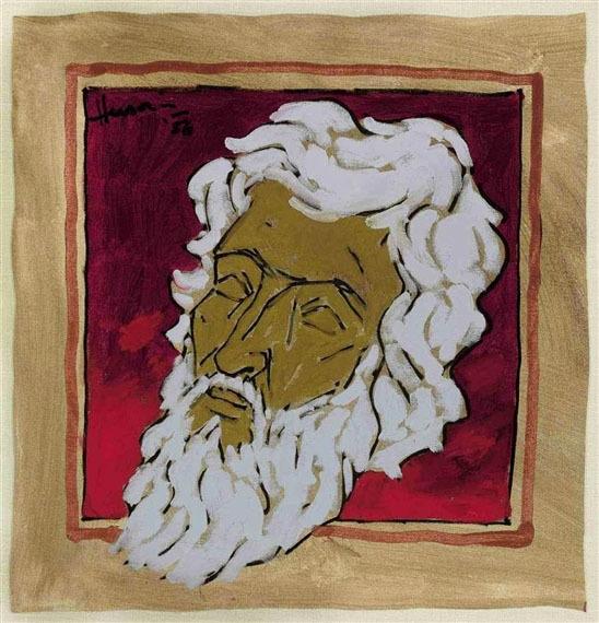 """Untitled (Self Portrait)"", 1986.—WikiArt."