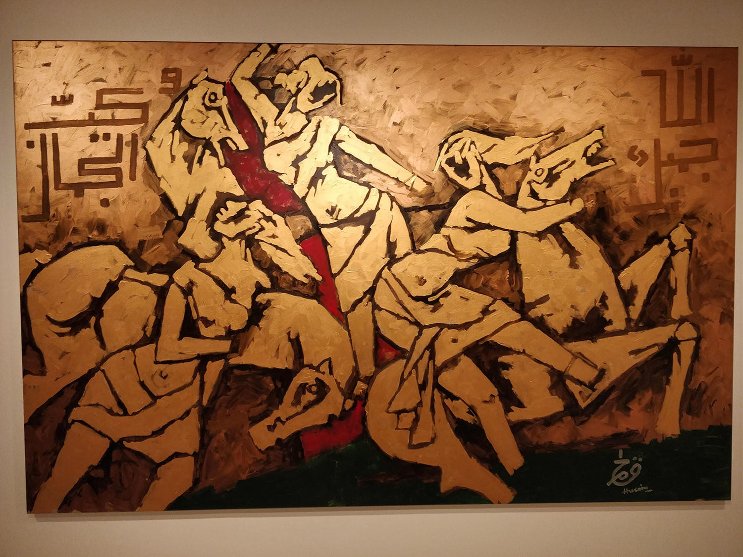 30 Controversial MF Hussain Paintings - Most Famous Indian