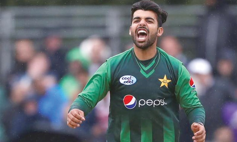 SHADAB Khan ... key player for the World Cup.