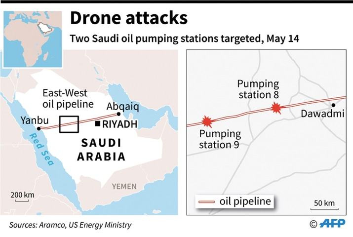 India Condemns Drone Attacks Targeting Oil Installations in Saudi Arabia