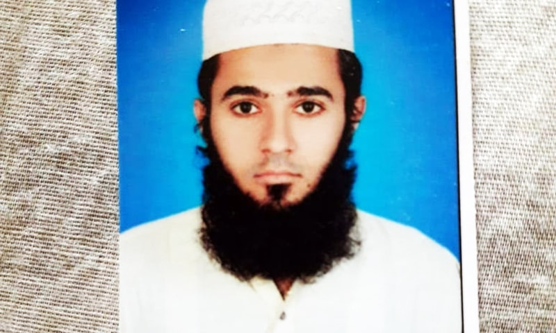 Muhammad Shafaat Soomro, the son of a senior journalist, has gone missing. — Photo courtesy Imtiaz Ali