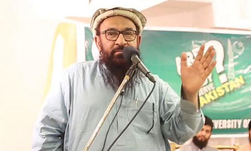 جماعت الدعوۃ کے نائب امیر کو اشتعال انگیز تقریر کرنے پر گرفتار کیا گیا — فوٹو بشکریہ ٹوئٹر