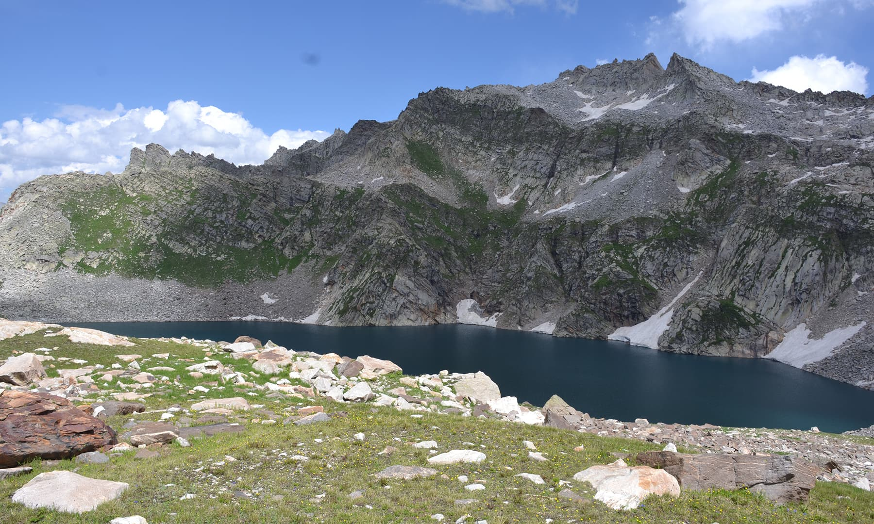 شکر گڑھ جھیل—تصویر  سلمان خان