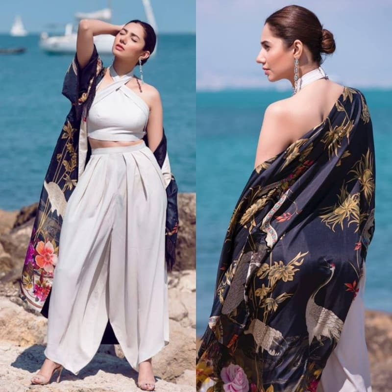 Throwback to Mahira's first look for Cannes