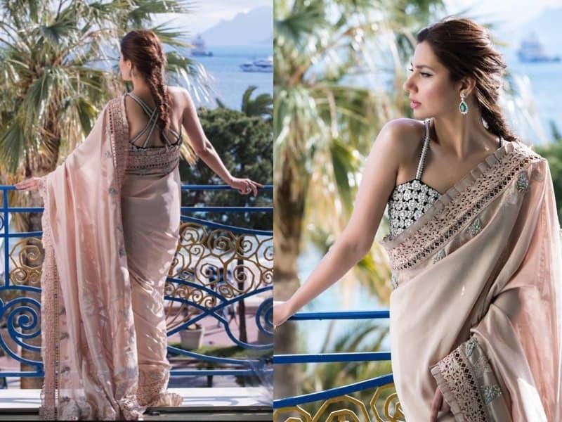 Remember her sari look?