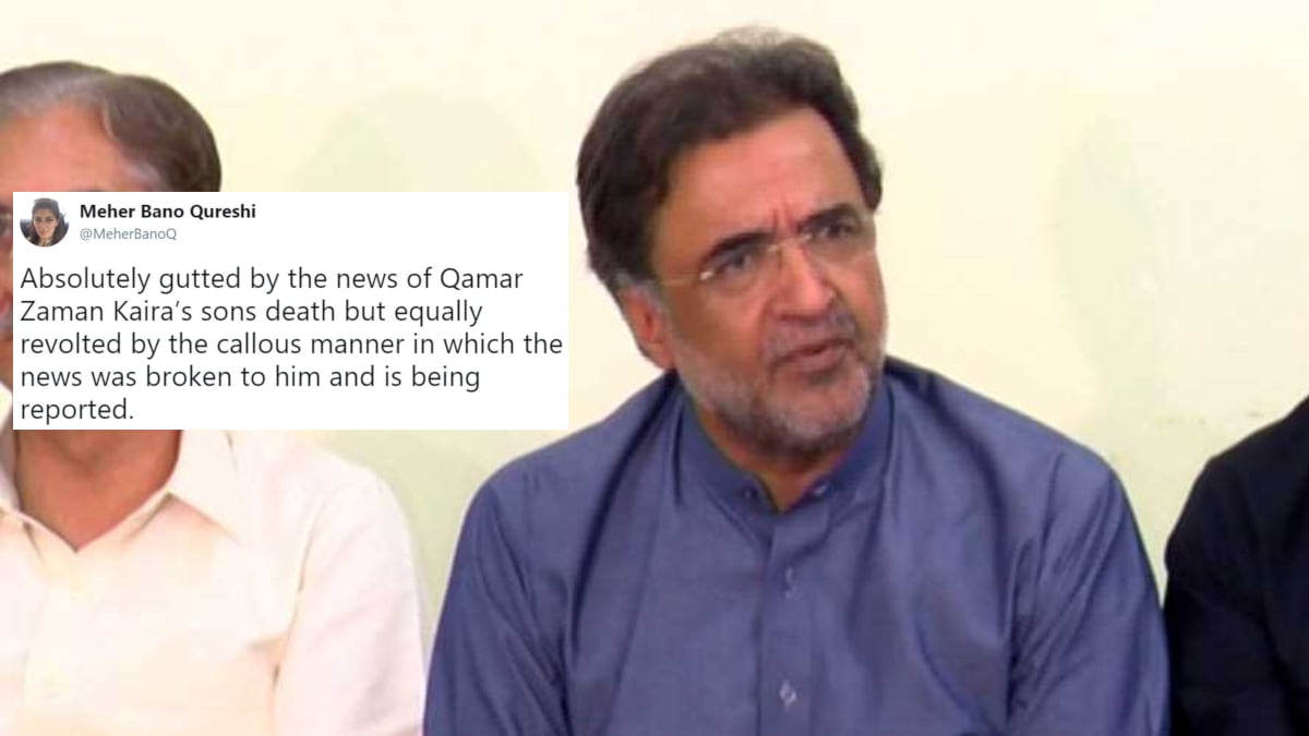 People's reactions to Qamar Zaman Kaira's tragic loss are truly appalling