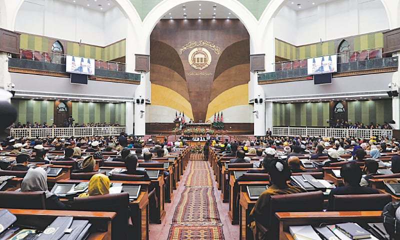 Afghanistan's parliament descended into chaos on Sunday when lawmakers brawled over the appointment of a new speaker, an inauspicious start to the assembly which was sitting for the first time since chaotic elections last year. — Reuters/File