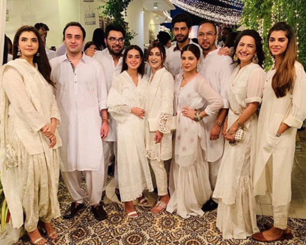 Nida Yasir, Wajahat Rauf and Sanam Saeed were also in attendance