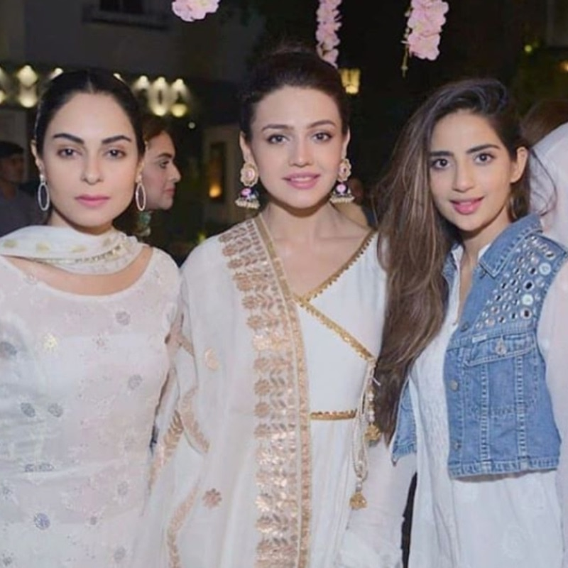 Spotted: Amar Khan, Zara Noor Abbas and Aly