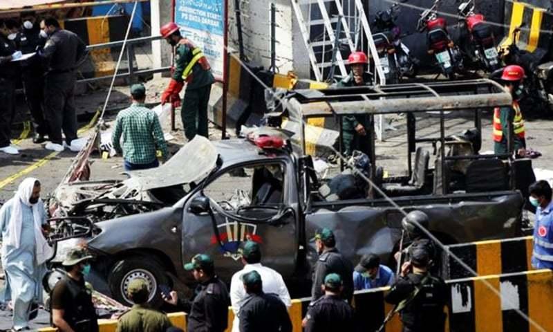 دھماکے سے قبل سہولت کار ، ہینڈلر اور خودکش بمبار بھاٹی گیٹ کے علاقے میں ایک مکان میں رہائش پذیر تھے — فائل فوٹو/ رائٹرز