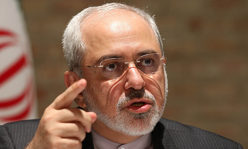 "Iranian Foreign Minister Mohammad Javad Zarif said on Monday the ""genocidal taunts"" of US President Donald Trump would not ""end Iran"", as tensions spike between the two countries. — AP/File"