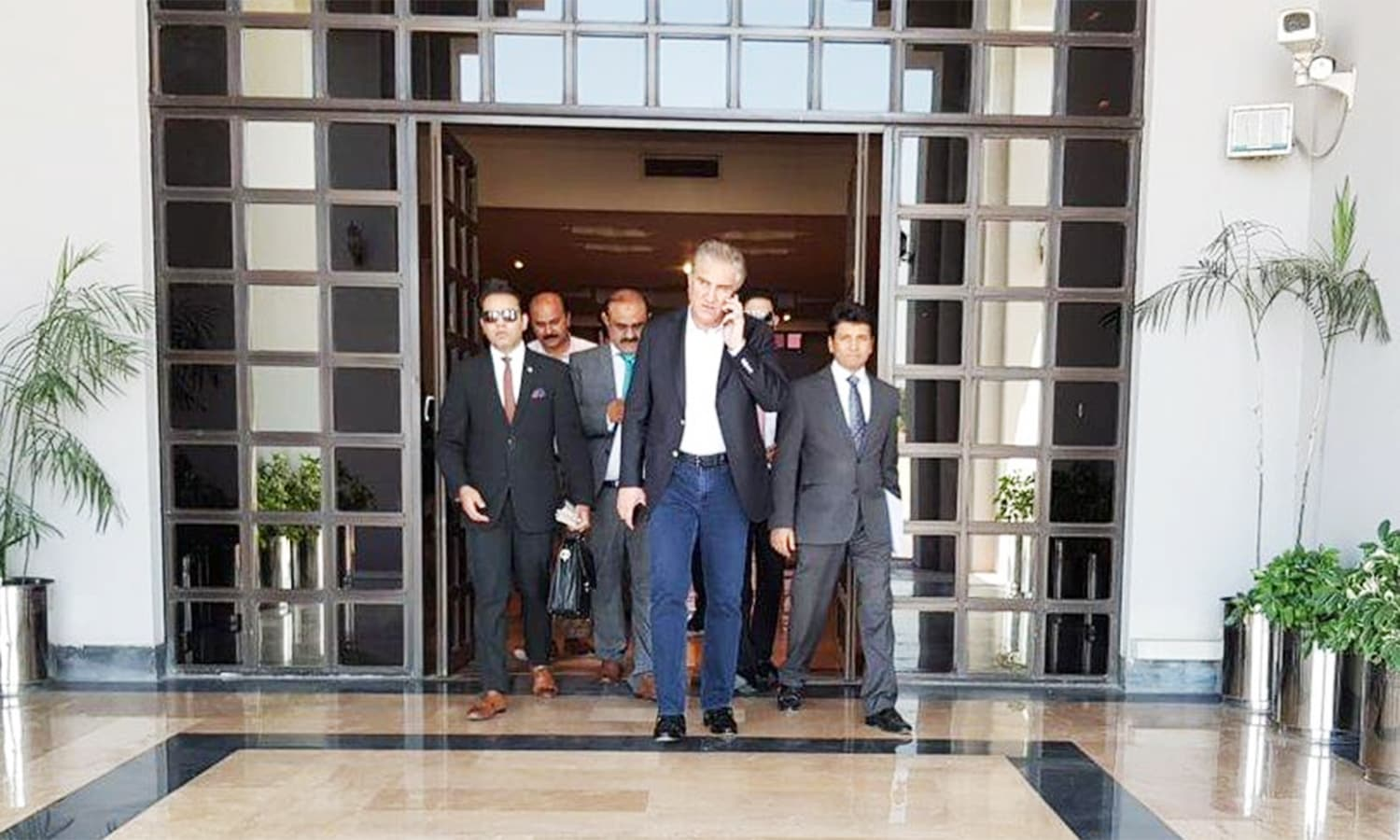 Foreign Minister Shah Mahmood Qureshi is slated to meet his Chinese and Russian counterparts in Bishkek. ─ Photo courtesy GoP Twitter