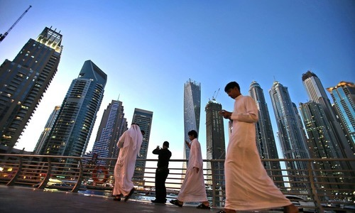 """The United Arab Emirates said on Tuesday it will grant 6,800 foreign investors permanent residency under a new """"Golden Card"""" system. — AP/File"""