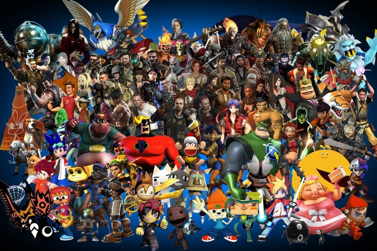 Sony hasover a 100 titles so we have a lot to be excited for