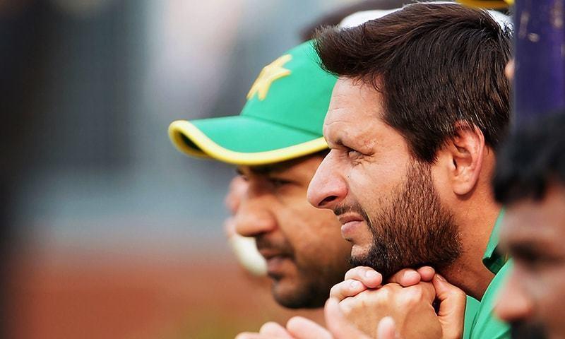 شاہد آفریدی نے کہا کہ ورلڈ کپ کے لیے پاکستانی ٹیم متوازن ہے— فائل فوٹو: اے ایف پی